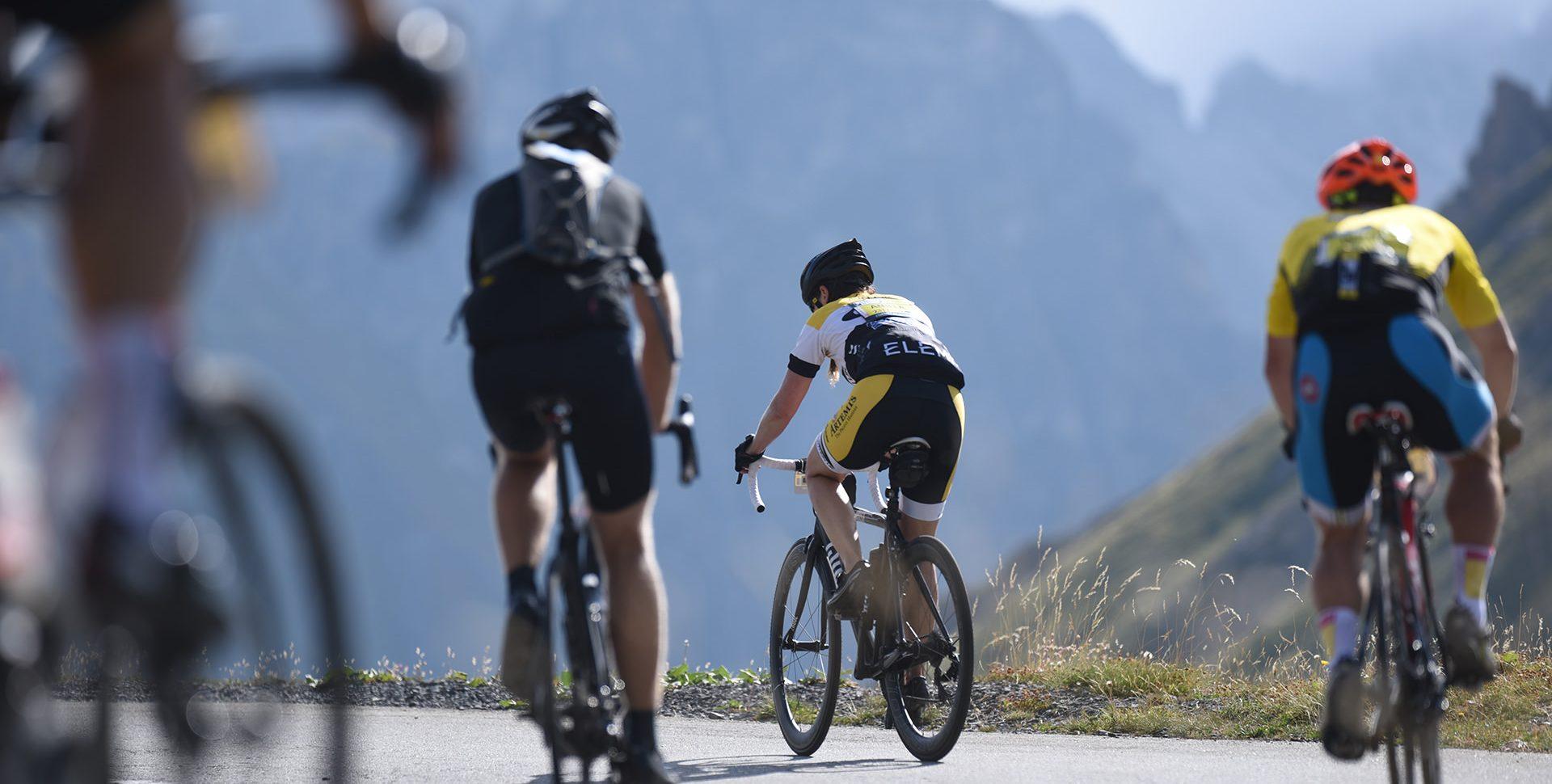 Haute Route 2016 - Cyclo dans le Col du Galibier