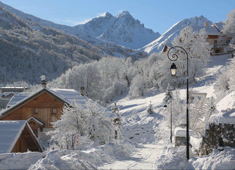 Le Serroz, l'un des 17 hameaux de Valloire