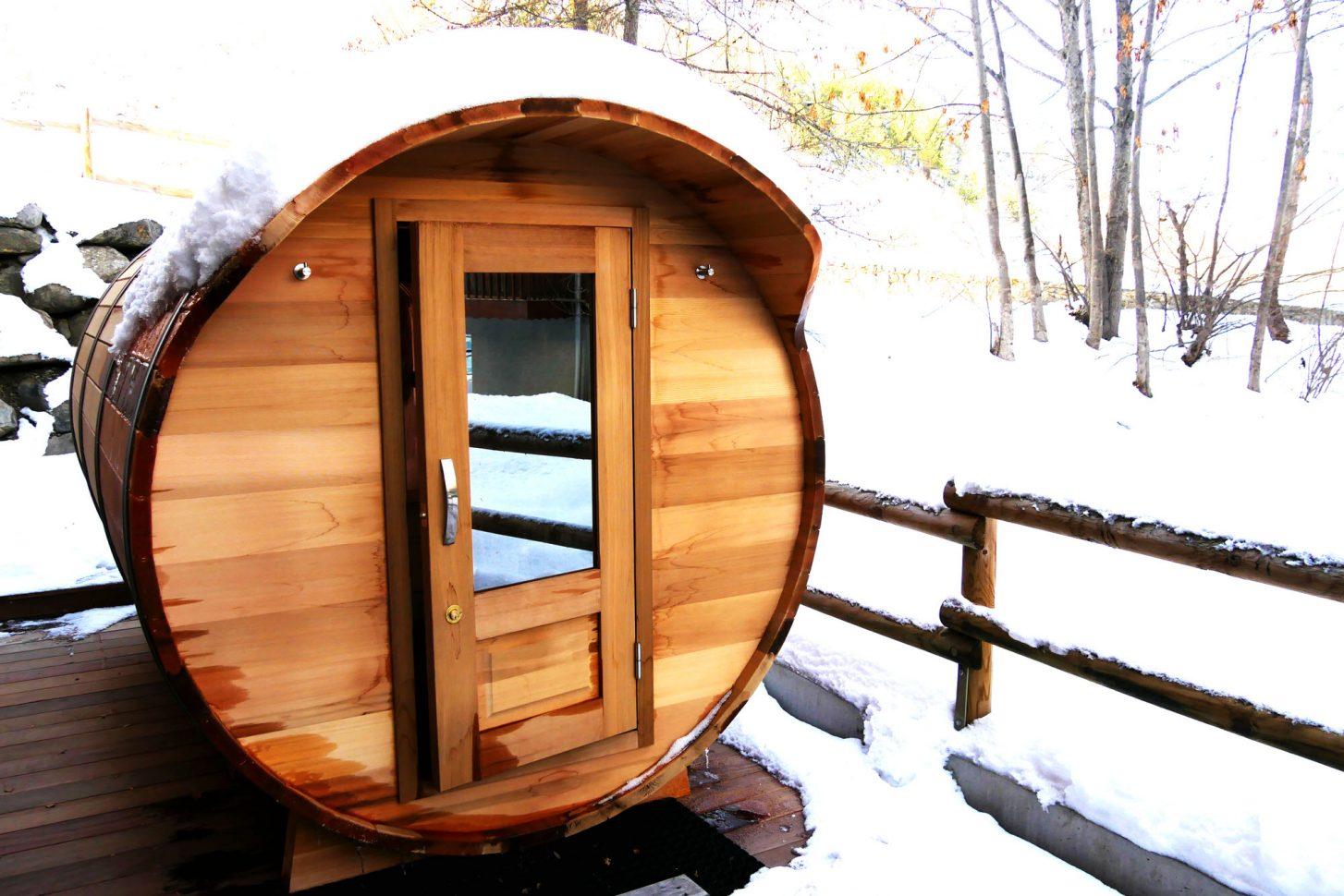 Sauna extérieur - Les Sens des Cimes à Valloire