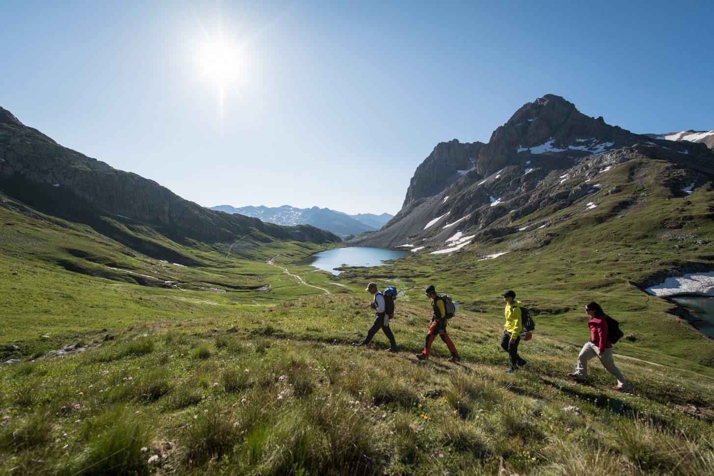Alpinisme entre amis à valloire