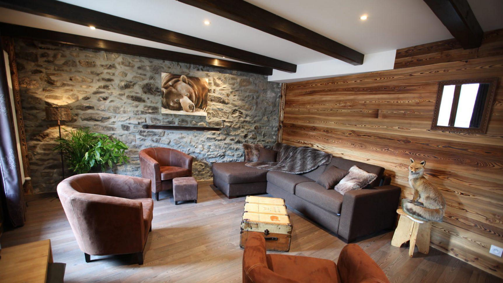 Intérieur d'appartement en location à Valloire - Les offres promotionnelles