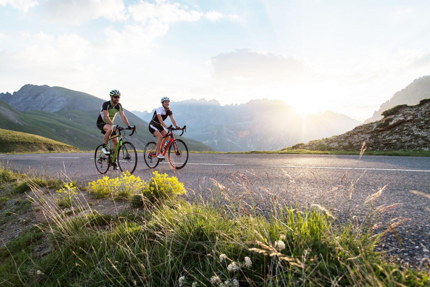 Gravir à vélo le col du Galibier