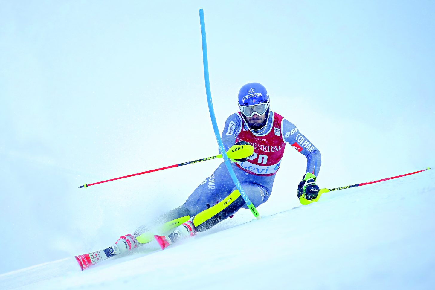 Jean-Baptiste Grange - Compétition de slalom