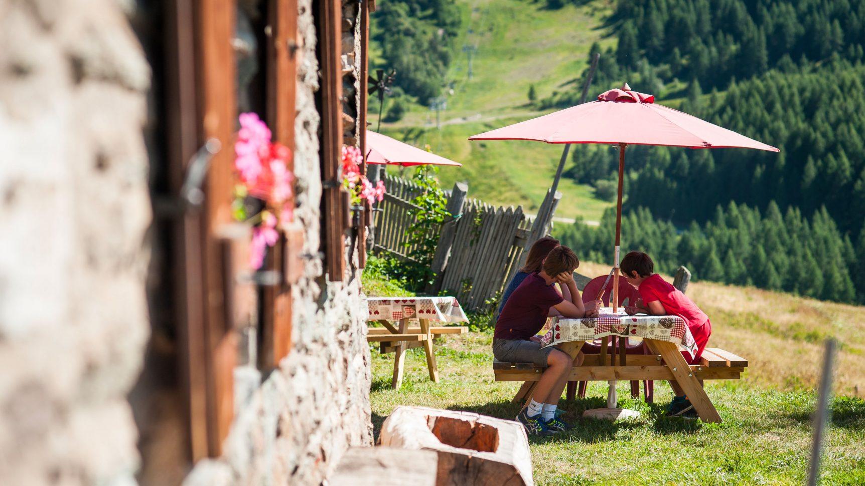 Restaurants d'altitude été à Valloire