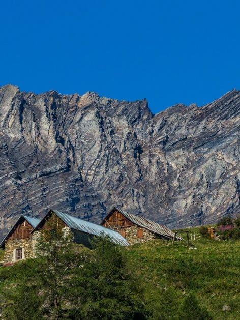 Chalet d'alpage en pierre et bois valloire