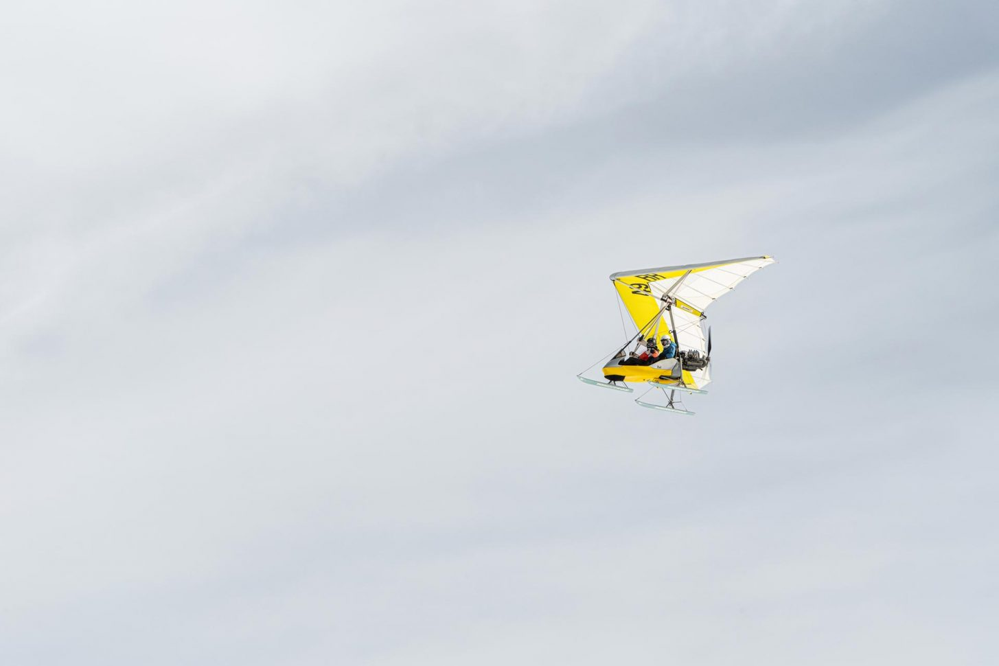 Planez dans les airs en ULM
