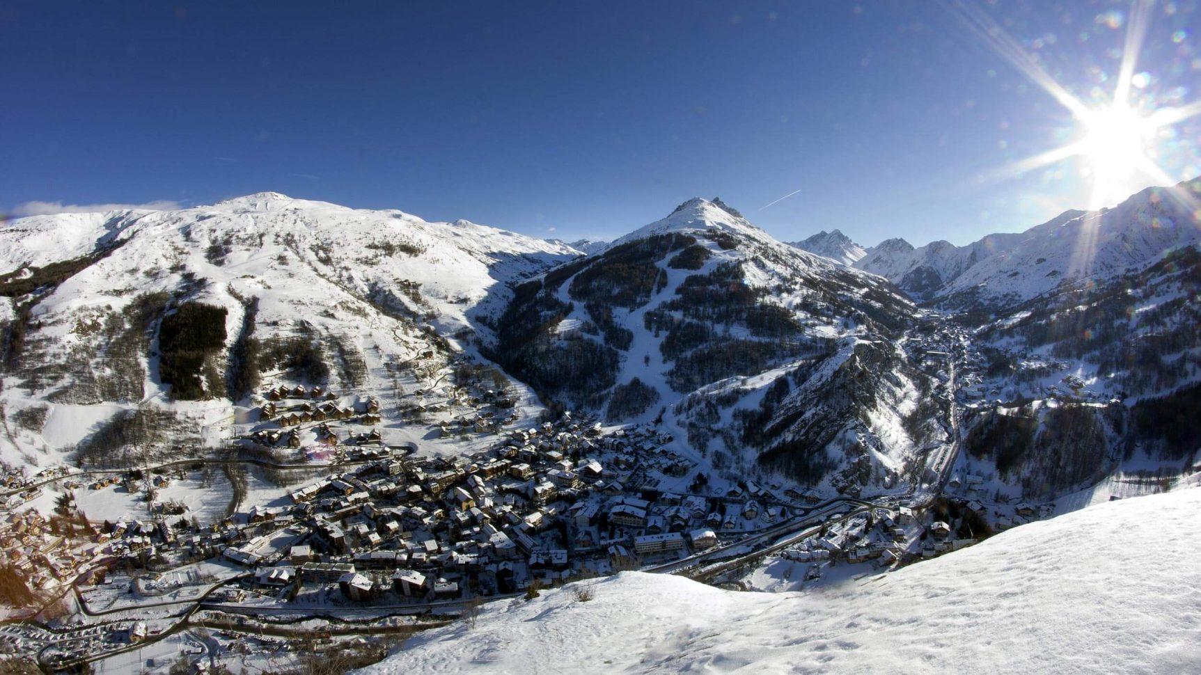 Valloire-Galibier, le village staion