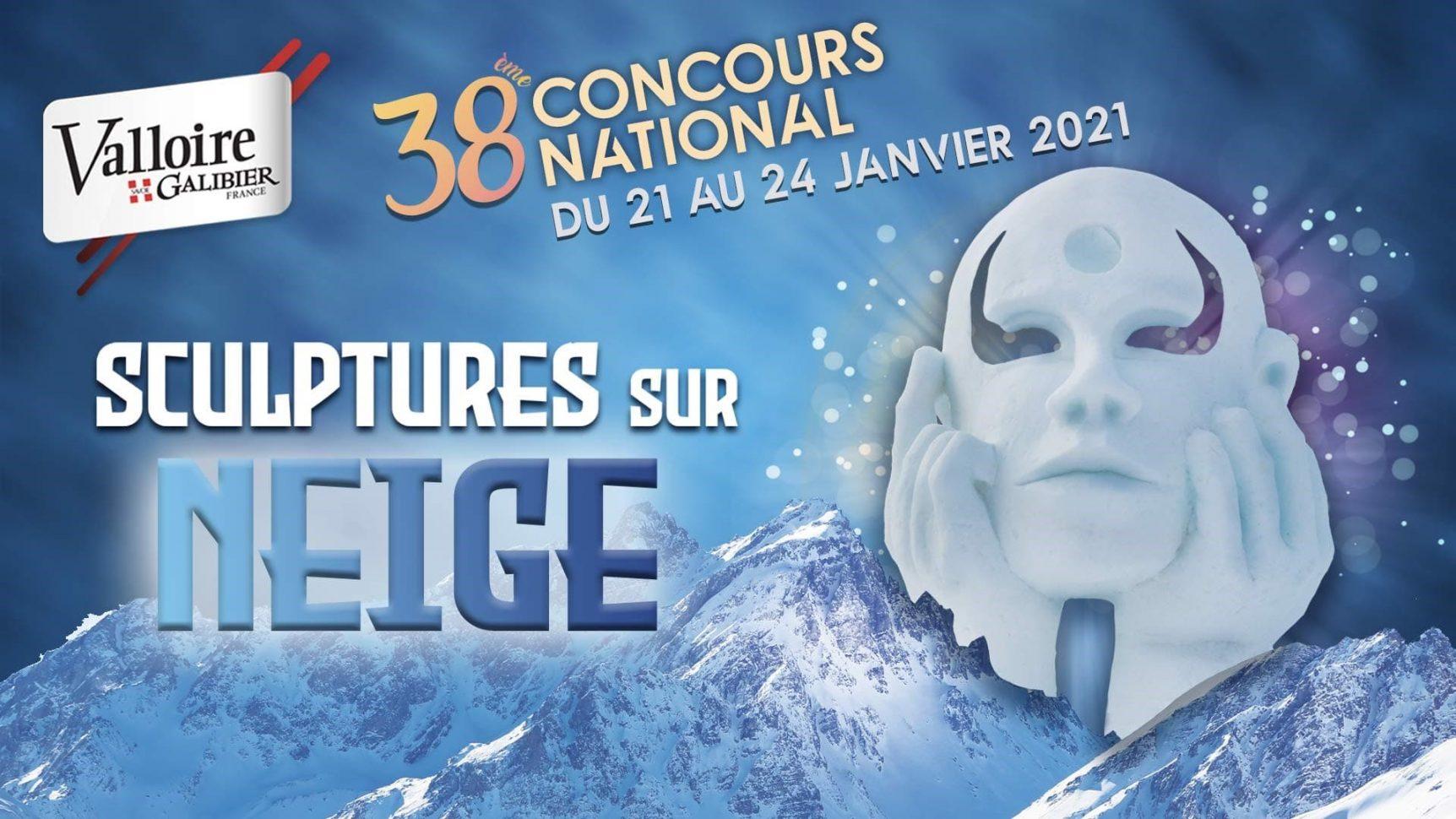 concours sculpture sur neige 2021 valloire